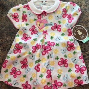 6/9Mo Carter's Adorable Butterfly Dress NWT